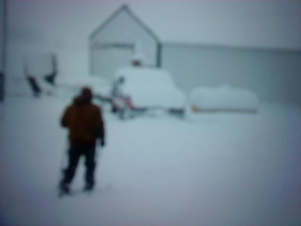 Chore skiing